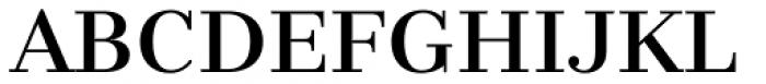 Nomada Didone Medium Font UPPERCASE