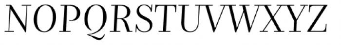 Nomada Didone Thin Italic Font UPPERCASE