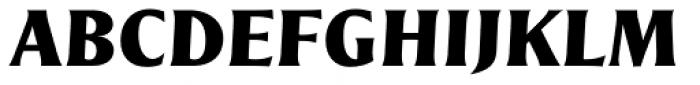 Nomada Incise Black Italic Font UPPERCASE