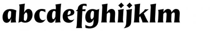Nomada Incise Black Italic Font LOWERCASE