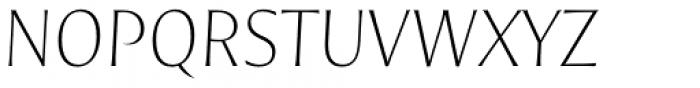 Nomada Incise Extrathin Italic Font UPPERCASE