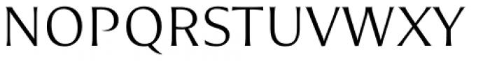 Nomada Incise Thin Font UPPERCASE