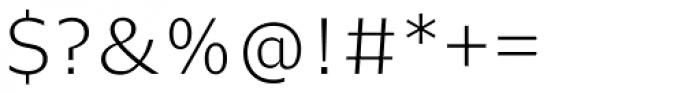 Nomada Light Font OTHER CHARS