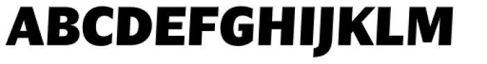 Nomada Sans Black Italic Font UPPERCASE