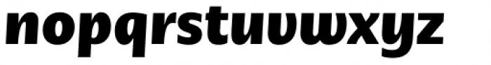 Nomada Sans Black Italic Font LOWERCASE