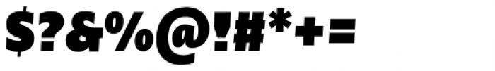 Nomada Sans Extrablack Italic Font OTHER CHARS