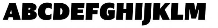 Nomada Sans Extrablack Italic Font UPPERCASE