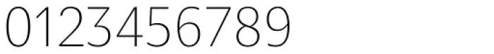 Nomada Sans Extrathin Font OTHER CHARS