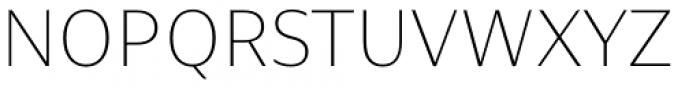 Nomada Sans Extrathin Font UPPERCASE