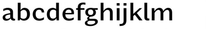 Nomada Sans Medium Font LOWERCASE
