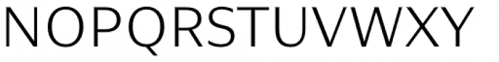 Nomada Sans Thin Font UPPERCASE