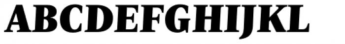 Nomada Serif Black Italic Font UPPERCASE