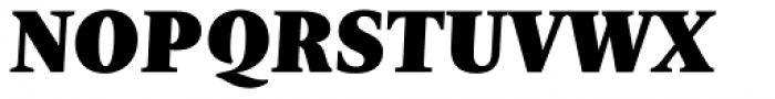 Nomada Serif Extrablack Italic Font UPPERCASE