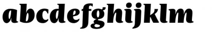 Nomada Serif Extrablack Italic Font LOWERCASE