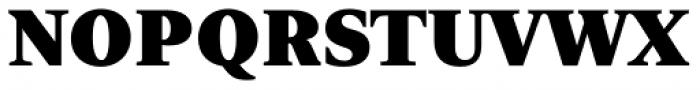 Nomada Serif Extrablack Font UPPERCASE