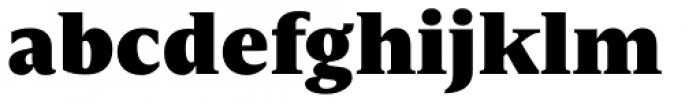 Nomada Serif Extrablack Font LOWERCASE