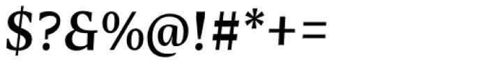 Nomada Serif Medium Italic Font OTHER CHARS