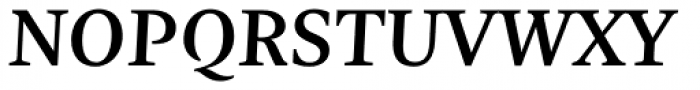 Nomada Serif Medium Italic Font UPPERCASE