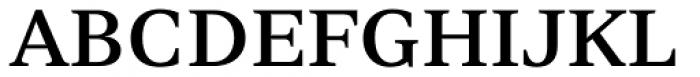 Nomada Serif Medium Font UPPERCASE