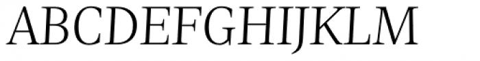 Nomada Serif Thin Italic Font UPPERCASE