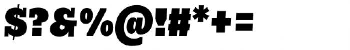 Nomada Slab Extrablack Italic Font OTHER CHARS