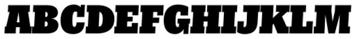 Nomada Slab Extrablack Italic Font UPPERCASE
