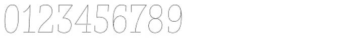 Nomada Slab Hairline Italic Font OTHER CHARS