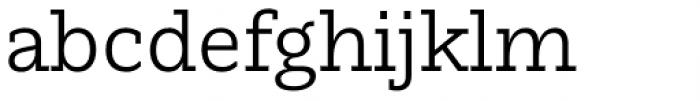 Nomada Slab Light Font LOWERCASE