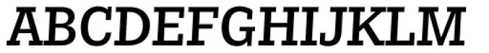Nomada Slab Medium Italic Font UPPERCASE