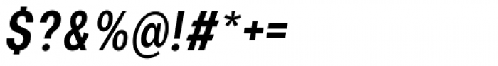 Nominee Medium Condensed Italic Font OTHER CHARS