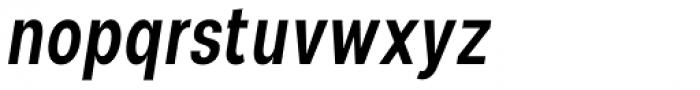 Nominee Medium Condensed Italic Font LOWERCASE