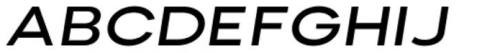 Nominee Medium Extended Italic Font UPPERCASE