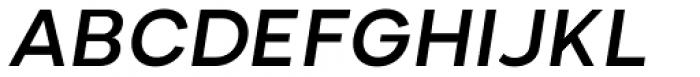 Nominee Medium Italic Font UPPERCASE
