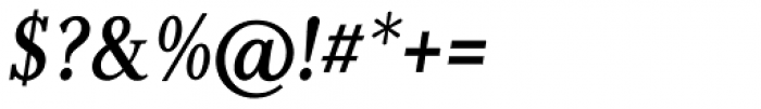 Non Solus Medium Italic Font OTHER CHARS