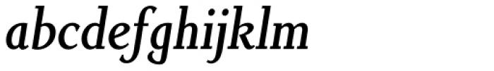 Non Solus Medium Italic Font LOWERCASE