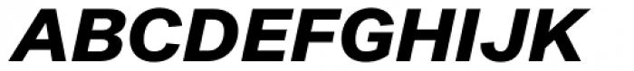 Noname™ (Pro) Super Italic Font UPPERCASE