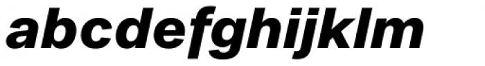 Noname™ (Pro) Super Italic Font LOWERCASE