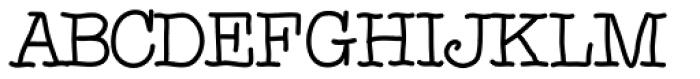 Noodlerz Font UPPERCASE