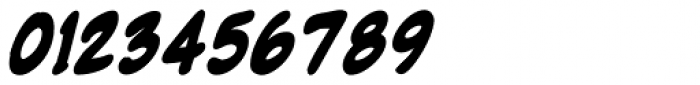 NorB Marker Bold Italic Font OTHER CHARS