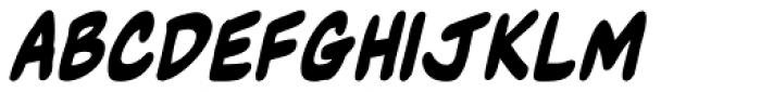 NorB Marker Bold Italic Font UPPERCASE