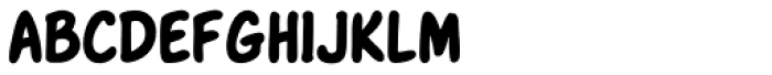 NorB Scribe Bold Font LOWERCASE