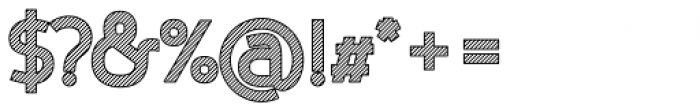 Nora Art Line Outline Font OTHER CHARS