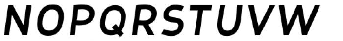 Nora Grotesque Black Oblique Font UPPERCASE