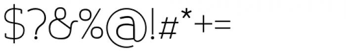 Nora Slab Regular Font OTHER CHARS