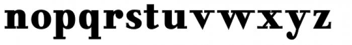 NoraPen Bold Condensed Font LOWERCASE