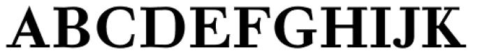 NoraPen Medium Font UPPERCASE