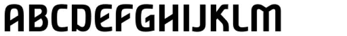 Nordic Narrow Pro Bold Font UPPERCASE