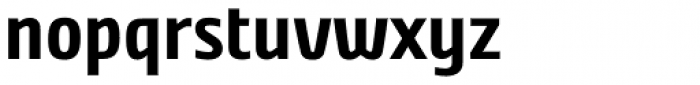 Nordic Narrow Pro Bold Font LOWERCASE