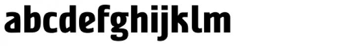 Nordic Narrow Pro ExtraBold Font LOWERCASE