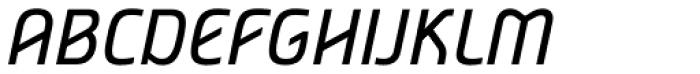 Nordic Narrow Pro Italic Font UPPERCASE